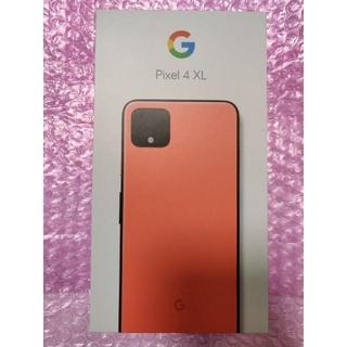 ソフトバンク(Softbank)のk. 様専用 Pixel 4 XL 64GB 3台 オレンジ・ホワイト・ブラック(スマートフォン本体)