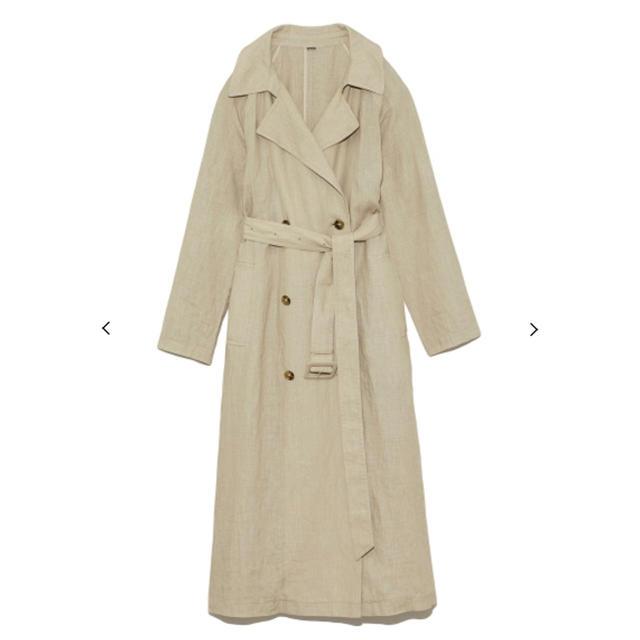 Mila Owen(ミラオーウェン)のMilaOwen トレンチコート レディースのジャケット/アウター(ロングコート)の商品写真