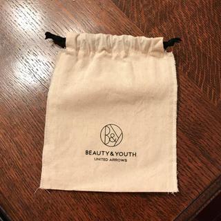 ビューティアンドユースユナイテッドアローズ(BEAUTY&YOUTH UNITED ARROWS)のビューティ&ユース 巾着(ショップ袋)
