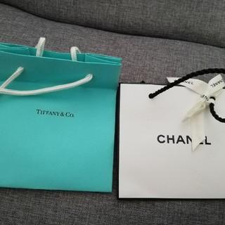 ティファニー(Tiffany & Co.)の【お値下げしました!】CHANELとTiffanyのショップ袋(その他)