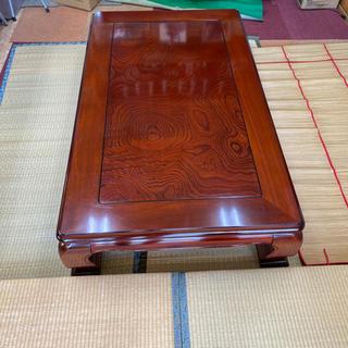 ★最終値下げ★猫脚座卓 和式座卓 ちゃぶ台 日本製(ローテーブル)