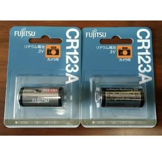 フジツウ(富士通)の富士通カメラ用リチウム電池 CR123A (その他)