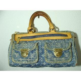 ルイヴィトン(LOUIS VUITTON)のLOUISVUITTONルイヴィトンモノグラムデニムネオスピーディハンドバッグ鞄(ハンドバッグ)