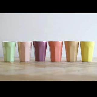 イデアインターナショナル(I.D.E.A international)のBRUNO♡セラミックカップ6個セット(グラス/カップ)
