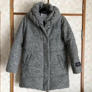 チャオパニックティピー(CIAOPANIC TYPY)の美品 チャオパニックティピー 極暖 ダウンコート グレー サイズF 日本M相当(ダウンコート)
