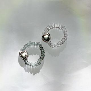 韓国ファッション ビーズリング 指輪 (リング(指輪))
