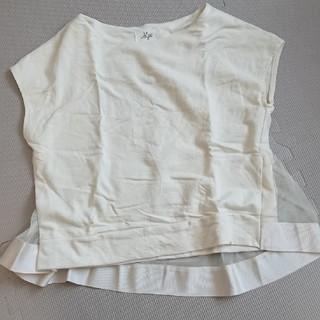 デミルクスビームス(Demi-Luxe BEAMS)のMyu 裾チュール ティーシャツ(Tシャツ(半袖/袖なし))