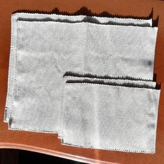 ムジルシリョウヒン(MUJI (無印良品))の無印良品ランチョンマット&ティーマット計4枚 アイボリー(テーブル用品)