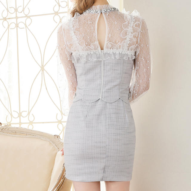 ROBE(ローブ)の♡ROBE de FLEURS♡ レディースのフォーマル/ドレス(ミニドレス)の商品写真