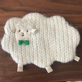 【お値下げしました】LISU LISU 羊さんポーチ ハンドメイド ポーチ(ポーチ)