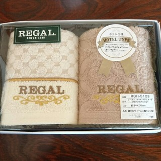 リーガル(REGAL)のREGAL ウォッシュタオルセット(タオル/バス用品)