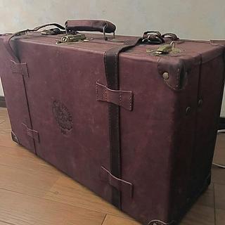 ディズニー(Disney)の革製トランクケース Disney×JAL(スーツケース/キャリーバッグ)