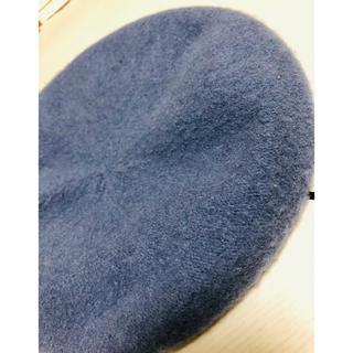 ローリーズファーム(LOWRYS FARM)のローリーズファーム くすんだブルー ベレー帽(ハンチング/ベレー帽)