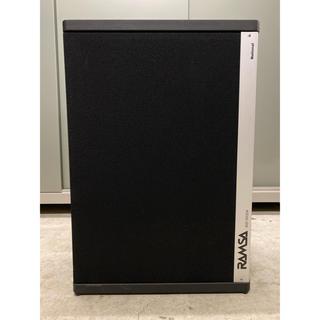 パナソニック(Panasonic)のRAMSA フロアモニタースピーカー 型番WS-9200A(スピーカー)