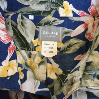 デラックス(DELUXE)のデラックス アロハシャツ(シャツ)