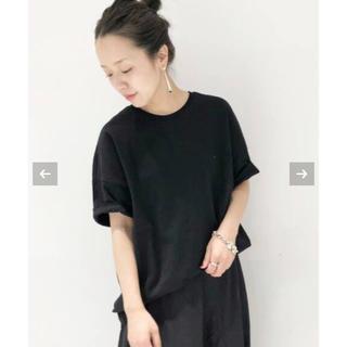 プラージュ(Plage)のPlage クラシック天竺Tシャツ(Tシャツ/カットソー(半袖/袖なし))