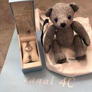 カナルヨンドシー(canal4℃)の【ほぼ未使用】canal 4℃  腕時計♡【お値下げ!】(腕時計)