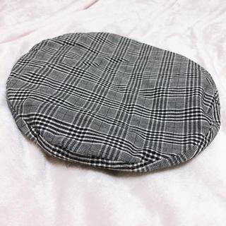 MAJESTIC LEGON - グレンチェックベレー帽