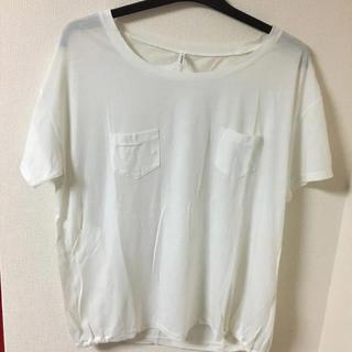 ケービーエフ(KBF)のKBF 白 ポケT(Tシャツ(長袖/七分))