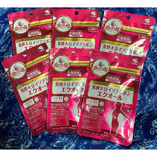 小林製薬 - 命の母 発酵大豆イソフラボン エクオール  6袋