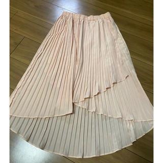 デュラス(DURAS)のduras プリーツスカート(ひざ丈スカート)