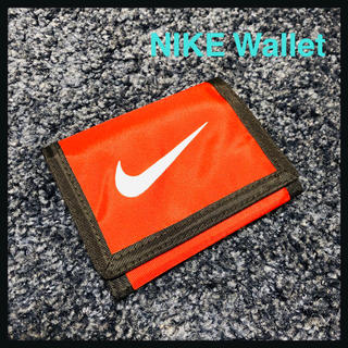 ナイキ(NIKE)のNIKE 廃盤 90s ウォレット 折りたたみ財布 財布 新品未使用 廃盤 赤(折り財布)