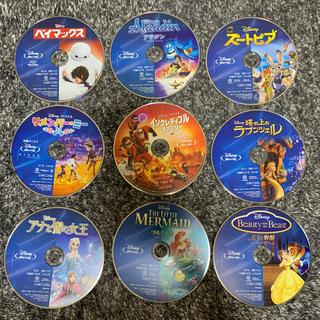 ディズニー(Disney)のディズニー 9作品+2枚 ブルーレイまとめ売り(キッズ/ファミリー)