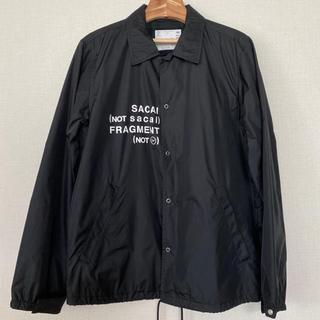 サカイ(sacai)のsacai × fragment design 海外限定コーチジャケット サカイ(ナイロンジャケット)