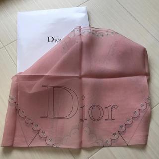 ディオール(Dior)のディオール Dior スカーフ バンダナ 非売品 ノベルティ 新品(バンダナ/スカーフ)