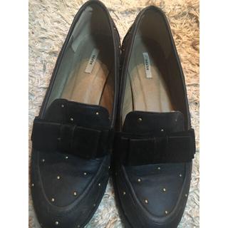 ランダ(RANDA)のランダ リボンスタッズローファー(ローファー/革靴)