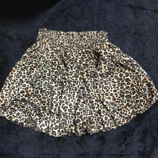 スピンズ(SPINNS)のレオパード スカート(ひざ丈スカート)