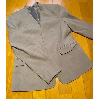 ジーユー(GU)のノーカラージャケット 美品✨一度きり使用⭐️(ノーカラージャケット)