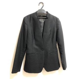 スーツカンパニー(THE SUIT COMPANY)のUNIVERSAL LANGUAGE ウール 変形カラー ジャケット(ノーカラージャケット)