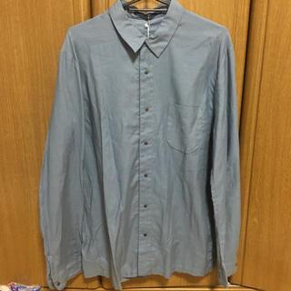 イッティービッティー(ITTY BITTY)のITTY-BITTY 長袖シャツ サイズ3 カラー水色(シャツ)