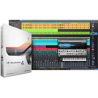 作曲ソフト STUDIO ONE 4 PROFESSIONAL DL版(DAWソフトウェア)