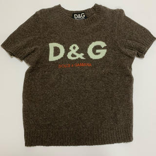 ドルチェアンドガッバーナ(DOLCE&GABBANA)のドルチェ&ガッバーナ 半袖ニット(ニット/セーター)