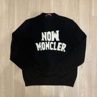 モンクレール(MONCLER)の[新品同様]モンクレール genius ニット ブラック S(ニット/セーター)