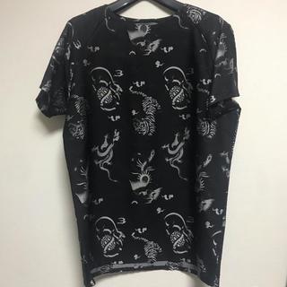 クリスチャンダダ(CHRISTIAN DADA)のクリスチャンダダ 刺繍 tシャツ ラッドミュージシャン ジョンローレンスサリバン(Tシャツ/カットソー(半袖/袖なし))