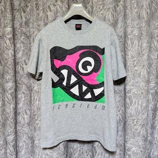 アイスクリーム(ICE CREAM)のICECREAMプリントTシャツ(Tシャツ/カットソー(半袖/袖なし))