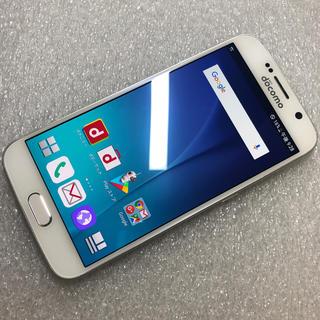 ギャラクシー(Galaxy)のドコモ SAMSUNG GALAXY S6 SC-05G ホワイト(スマートフォン本体)
