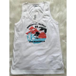 ドルチェアンドガッバーナ(DOLCE&GABBANA)のD&G❤️ドルチェ&ガッバーナ Tシャツ    タンクトップ(Tシャツ/カットソー(半袖/袖なし))
