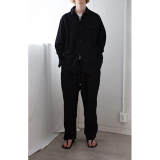 コモリ(COMOLI)の【新品未使用 】COMOLI 20ss ベタシャン ユーティリティ ネイビー 2(シャツ)