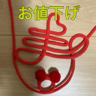 ディズニー(Disney)の赤い糸 寿 ディズニー 前撮りアイテム(その他)