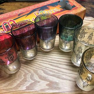 モロッコ ミントティーグラス 6個セット(グラス/カップ)