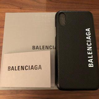 バレンシアガ(Balenciaga)のBALENCIAGA バレンシアガ iPhoneケース ハイブランド ロゴ 人気(iPhoneケース)