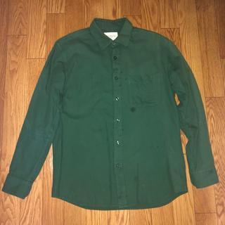 アーバンリサーチ(URBAN RESEARCH)のアーバンリサーチ シャツ 緑 グリーン S(シャツ)