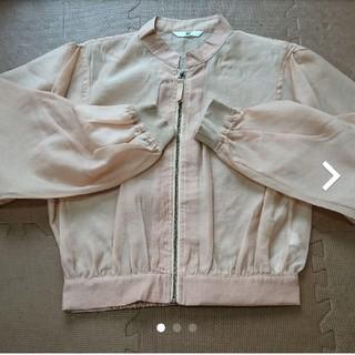 SLY - SLY 透けMA-1ジャケット