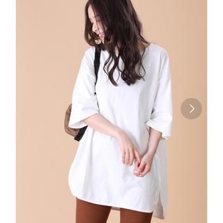 フリークスストア(FREAK'S STORE)の白Tシャツ ビックシルエット(Tシャツ(半袖/袖なし))