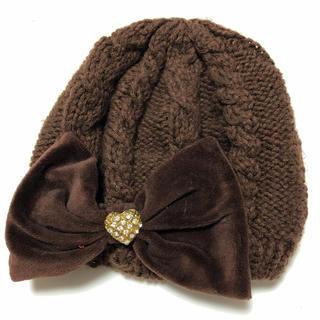 リズリサ(LIZ LISA)のリズリサ ベレーニット帽(ハンチング/ベレー帽)