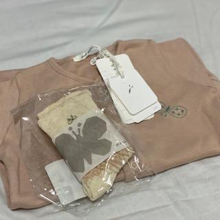 ミナペルホネン(mina perhonen)のミナペルホネン ベビー服、ソックス(ロンパース)